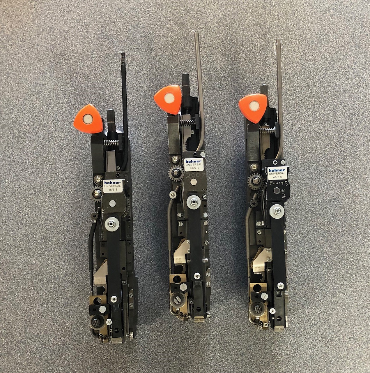 Bindery Parts: Used Hohner Heads