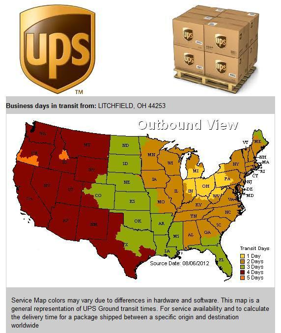 Bindery Parts: Shipping And Return Policy
